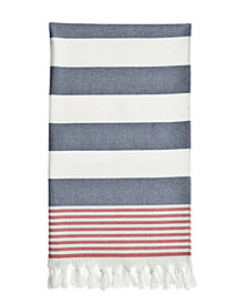 Linum Home Patriotic Pestemal Beach Towel
