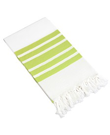Linum Home Herringbone Pestemal Beach Towel