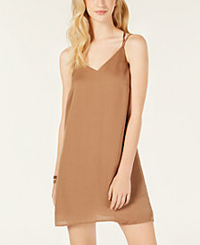 Material Girl Juniors' Strappy Shift Dress, Created for Macy's