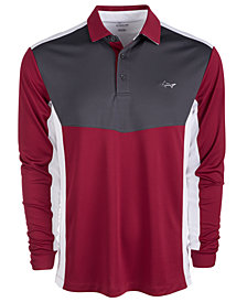 Attack Life by Greg Norman Men's Morgan Polo