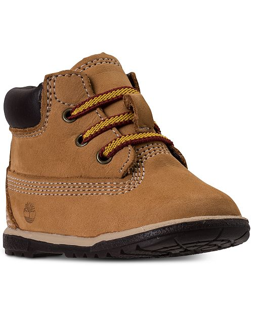 """Timberland Baby 6"""" Classic Crib Booties from Finish Line"""