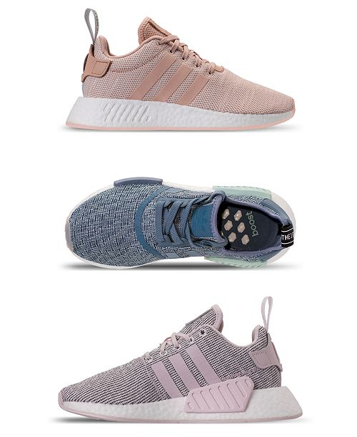 brand new cae08 228af adidas Women's NMD R2 Casual Sneakers from Finish Line ...