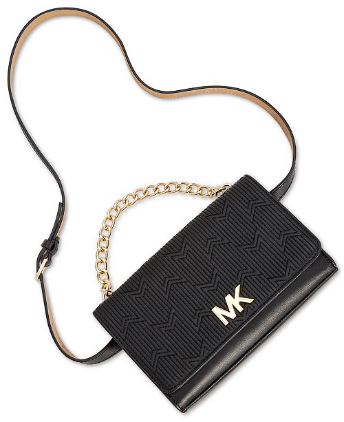 5c56ae5b3265f Michael Kors Deco M Quilted Belt Bag   Reviews - Handbags ...