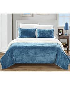 Evie 2-Pc Twin XL Blanket Set