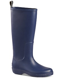 Totes Women's Cirrus Claire Tall Lightweight Waterproof Rainboots