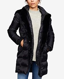 Maternity Zip-Front Coat