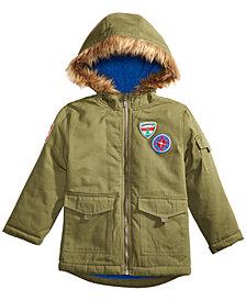 Epic Threads Little Boys Patch Anorak Jacket, Created for Macy's