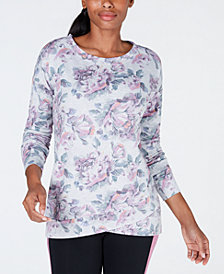 Ideology Printed Tulip-Hem Top, Created for Macy's