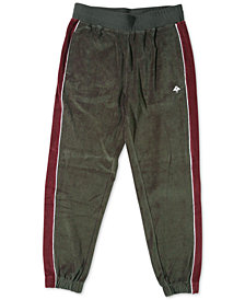 LRG Men's Payback Velour Pants