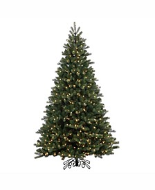 12' Noble Spruce Instant Shape Artificial Christmas Tree