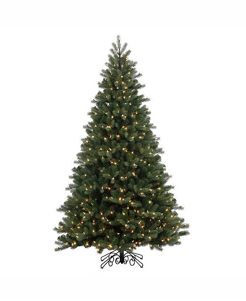 Vickerman 12' Noble Spruce Instant Shape Artificial Christmas Tree