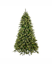 Vickerman 4.5 ft Cashmere Pine Artificial Christmas Tree With 250 Warm White Led Lights