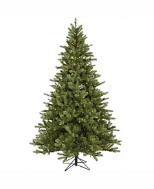 6.5 ft King Spruce Artificial Christmas Tree With 550 Clear Lights
