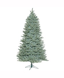 Vickerman 7.5 ft Colorado Blue Spruce Slim Artificial Christmas Tree With 800 Warm White Led Lights