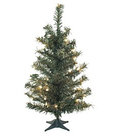 24 inch Canadian Pine Artificial Christmas Tree