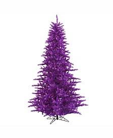 3' Purple Fir Artificial Christmas Tree