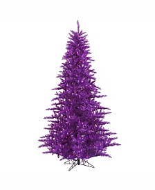Vickerman 3' Purple Fir Artificial Christmas Tree