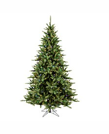 5.5 ft Camdon Fir Artificial Christmas Tree With 450 Multi-Colored Led Lights