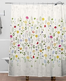 Iveta Abolina Adeline Moon Shower Curtain
