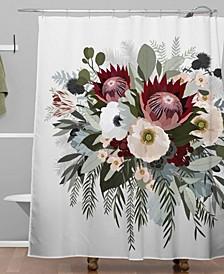 Iveta Abolina Marielle Ash Shower Curtain