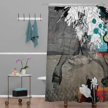 Deny Designs Iveta Abolina Blue Shower Curtain