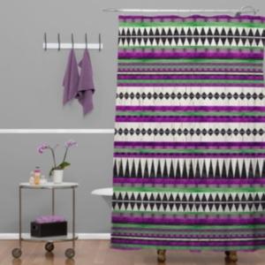Deny Designs Iveta Abolina Seafoam Shower Curtain Bedding