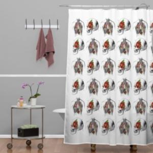 Deny Designs Iveta Abolina Deerbird Shower Curtain Bedding