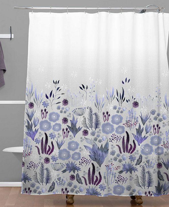 Deny Designs Iveta Abolina Teal Chevron Bath Mat