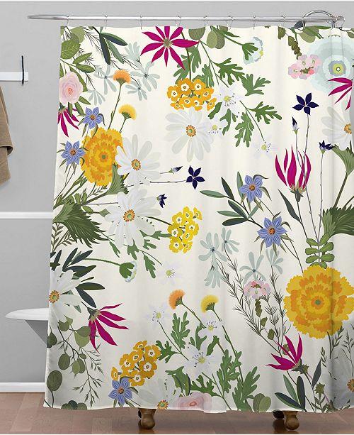 Deny Designs Iveta Abolina Bretta Shower Curtain