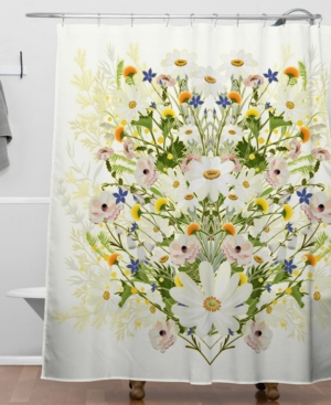 Deny Designs Iveta Abolina Blondelle Shower Curtain Bedding