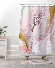 Deny Designs Iveta Abolina Crystalline Water Bath Mat