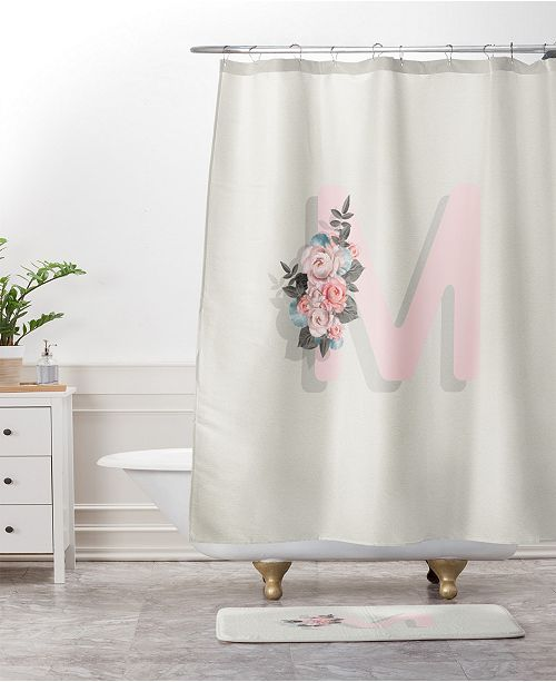 Deny Designs Iveta Abolina Pivoine P Bath Mat