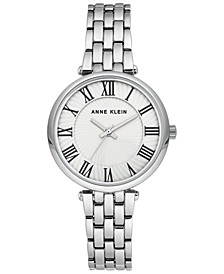 Women's Silver-Tone Bracelet Watch 32mm