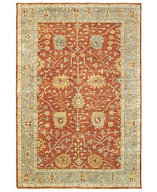 Palace 10306 Red/Gray 9' x 12' Area Rug