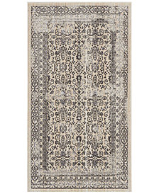 "kathy ireland Home KI34 Silver Screen KI342 Gray 2'2"" x 3'9"" Area Rug"