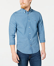 Tommy Hilfiger Men's Scott Printed Shirt, Created for Macy's