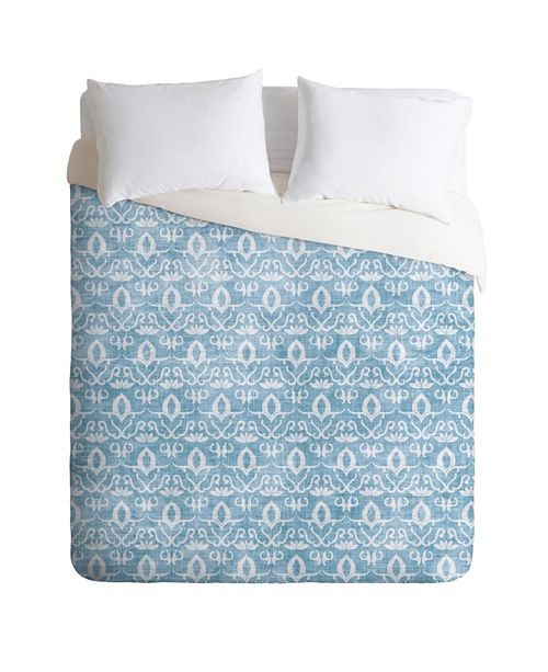Deny Designs Holli Zollinger Widden Indigo King Duvet Set