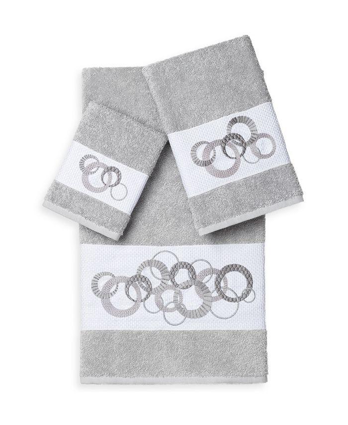 Linum Home - ANNABELLE 3PC Embellished Towel Set