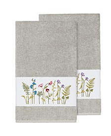 Serenity 2-Pc. Embellished Bath Towel Set