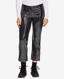 Free People Shine On Sequin Pants
