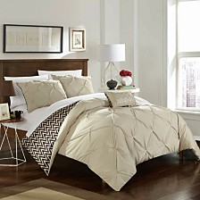 Chic Home Jacky 4-Pc Full/Queen Comforter Set