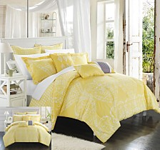 Chic Home Sicily 8-Pc. Comforter Sets