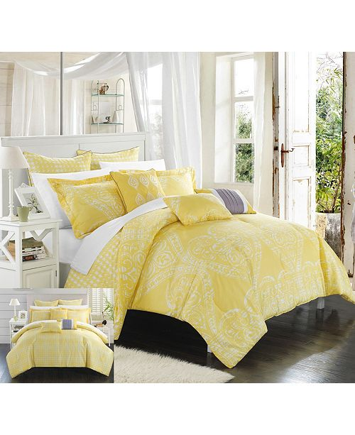Chic Home Sicily 8-Pc Queen Comforter Set
