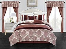 Chic Home Vivaldi 20-Pc King Comforter Set