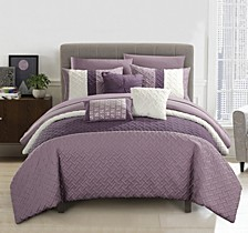 Osnat 10-Pc Queen Comforter Set