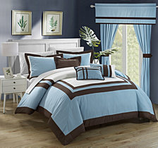 Chic Home Ritz 20-Pc Queen Comforter Set