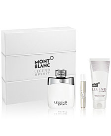 Montblanc Men's 3-Pc. Legend Spirit Gift Set