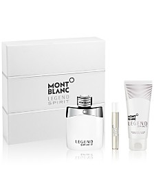 Montblanc Men's 3-Pc. Legend Spirit Gift Set, Created for Macy's