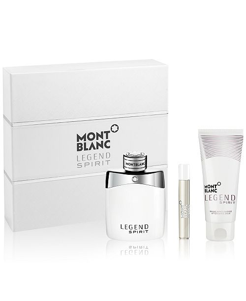 MONT BLANC Montblanc Men's 3-Pc. Legend Spirit Gift Set, Created for Macy's