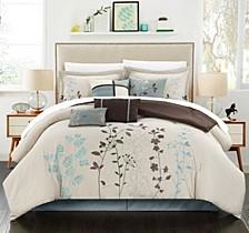 Bliss Garden 12-Pc King Comforter Set